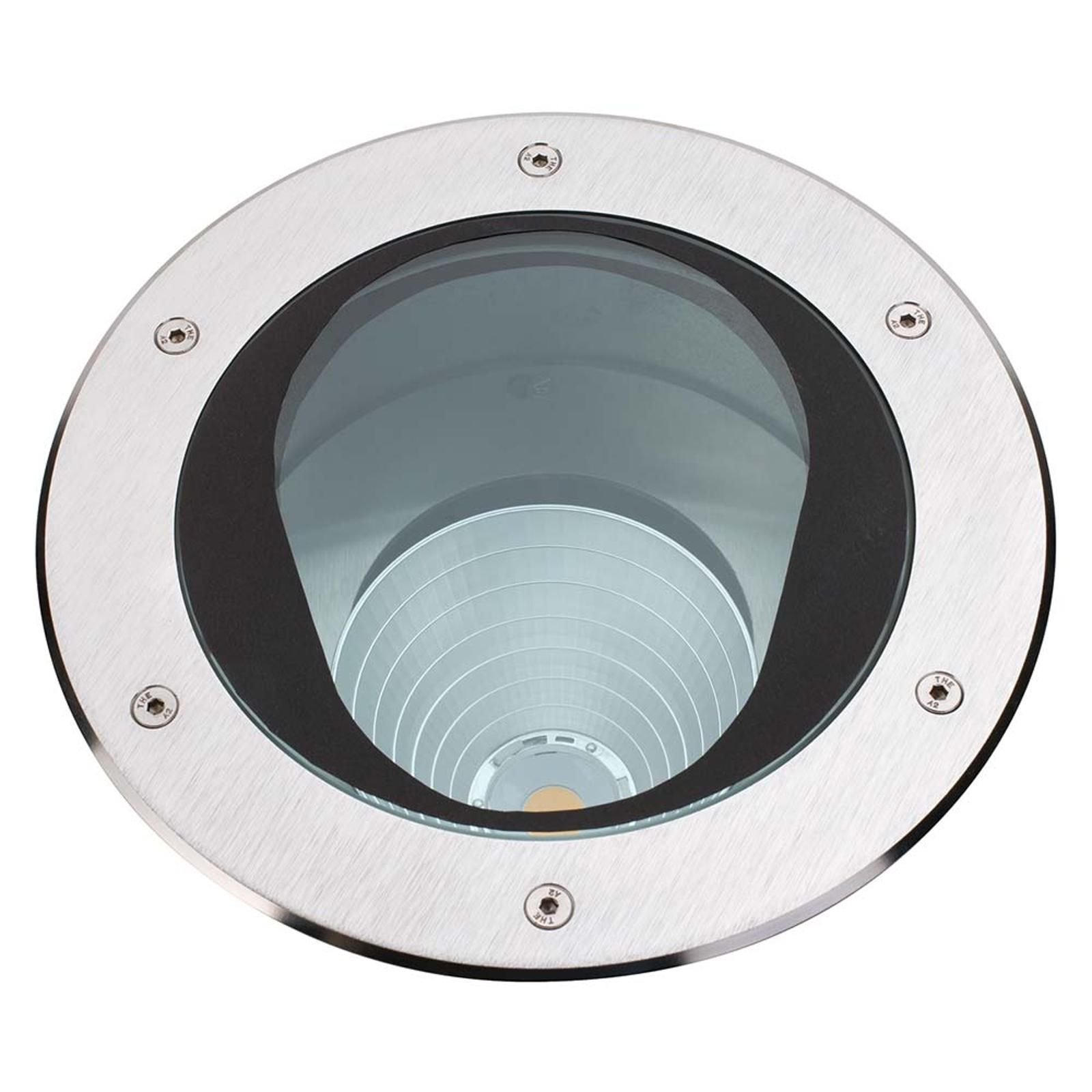 Upotettava Titus-LED-maaspotti 32 W – käännettävä