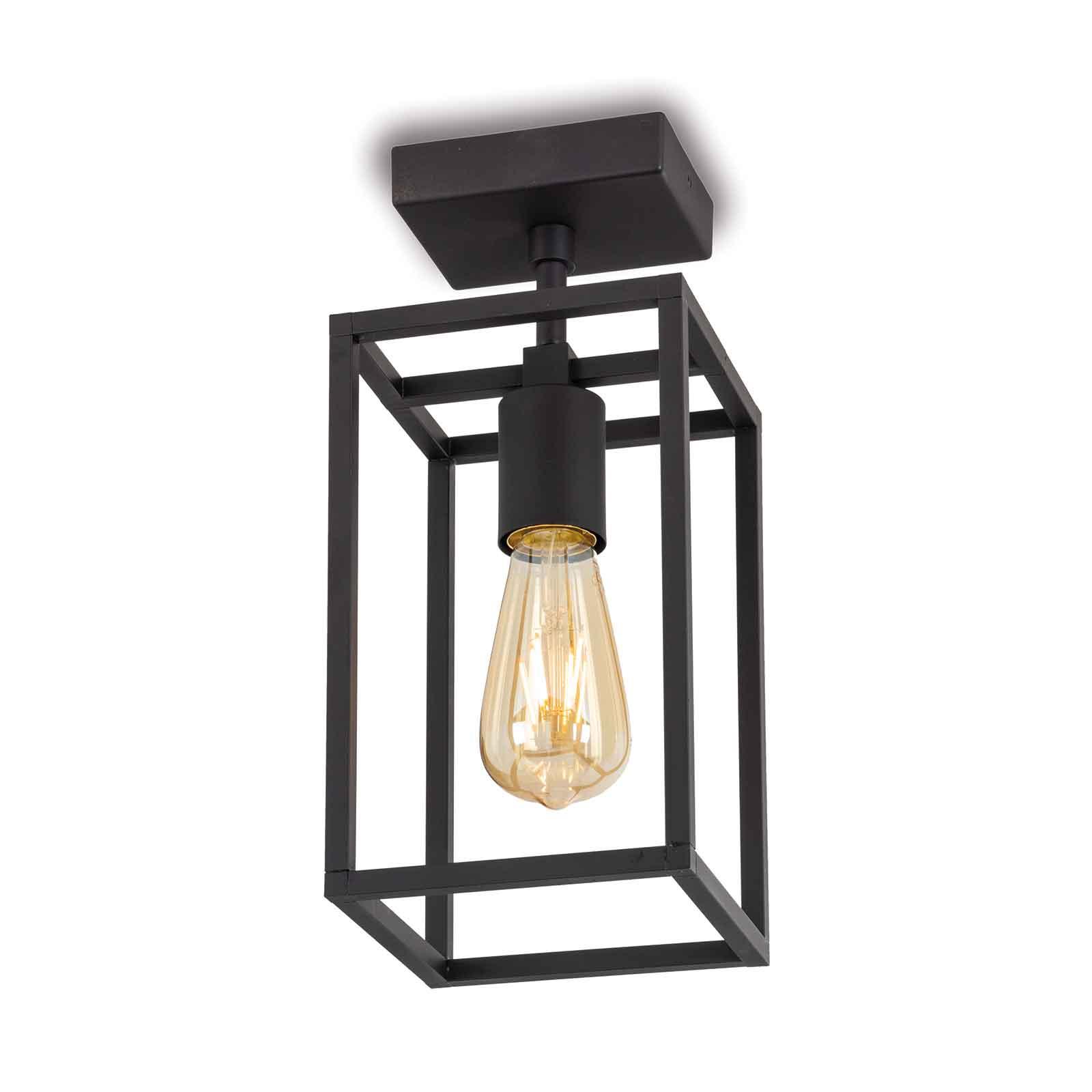 Cubic³ 3391 taklampe svart