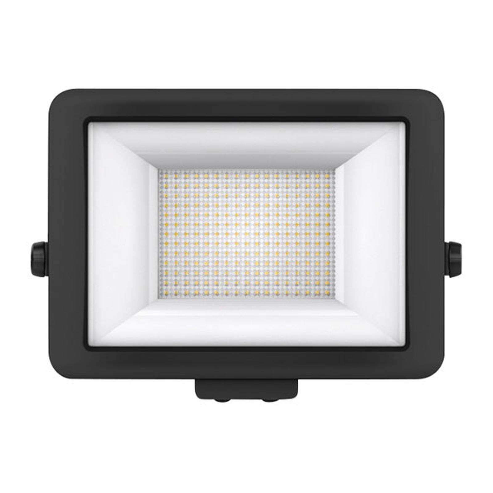 Theben theLeda B100L LED-Außenstrahler, schwarz