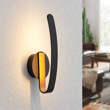 Arcchio Dzemail kinkiet LED, pośredni, czarny