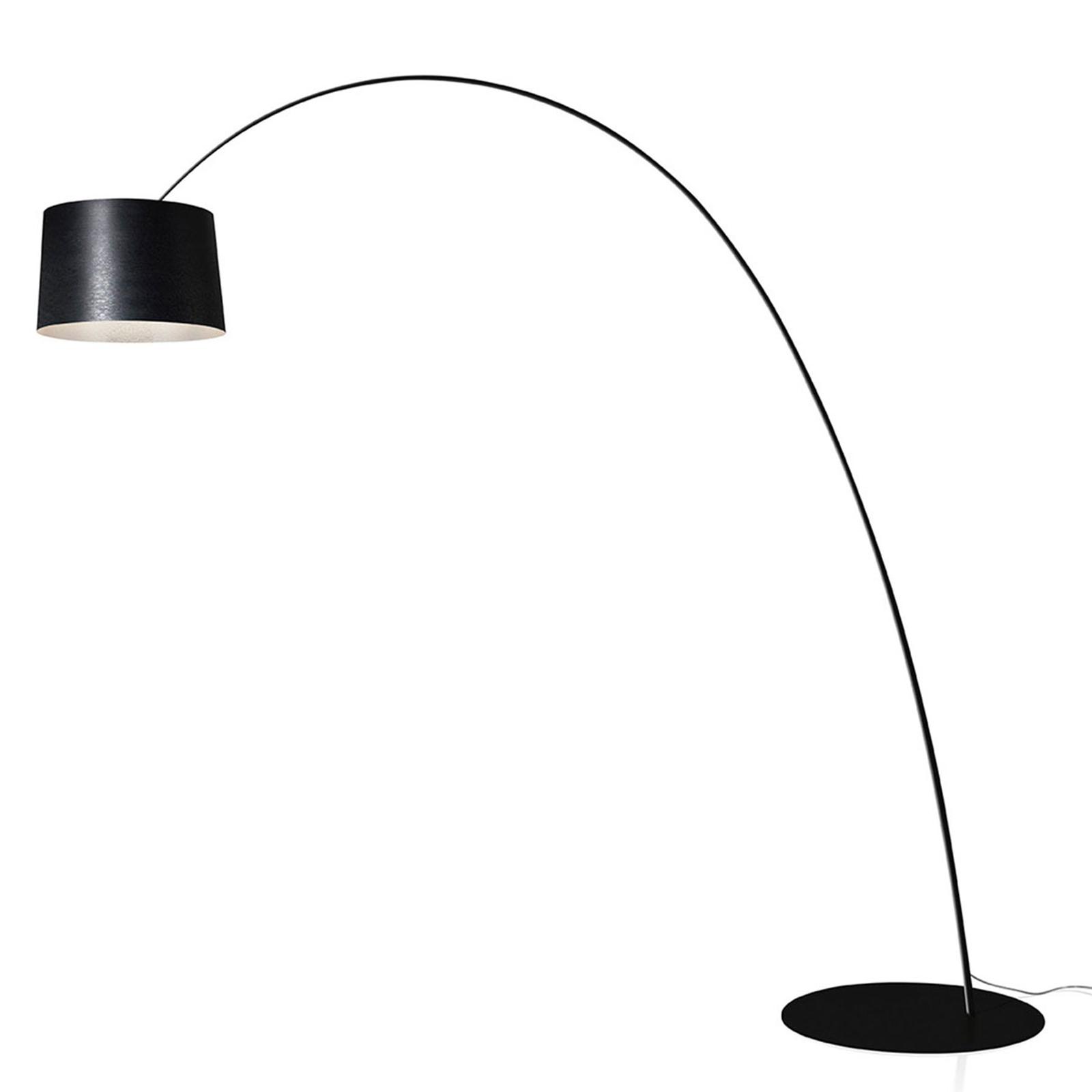 Foscarini Twiggy LED-golvlampa svart