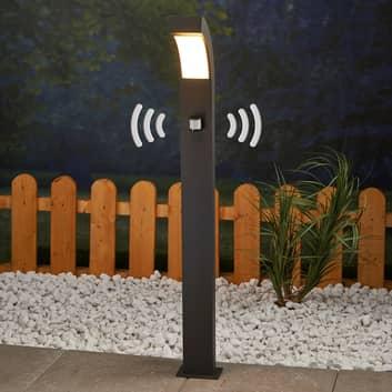 Borne lumineuse LED Lennik à détecteur de mvt