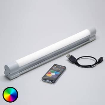 Multifunktionale LED-Leiste Magnetube m. Fernbed.