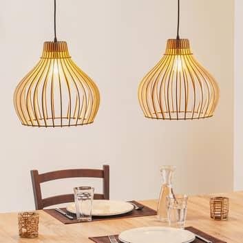 Barrel hængelampe, 2 lyskilder
