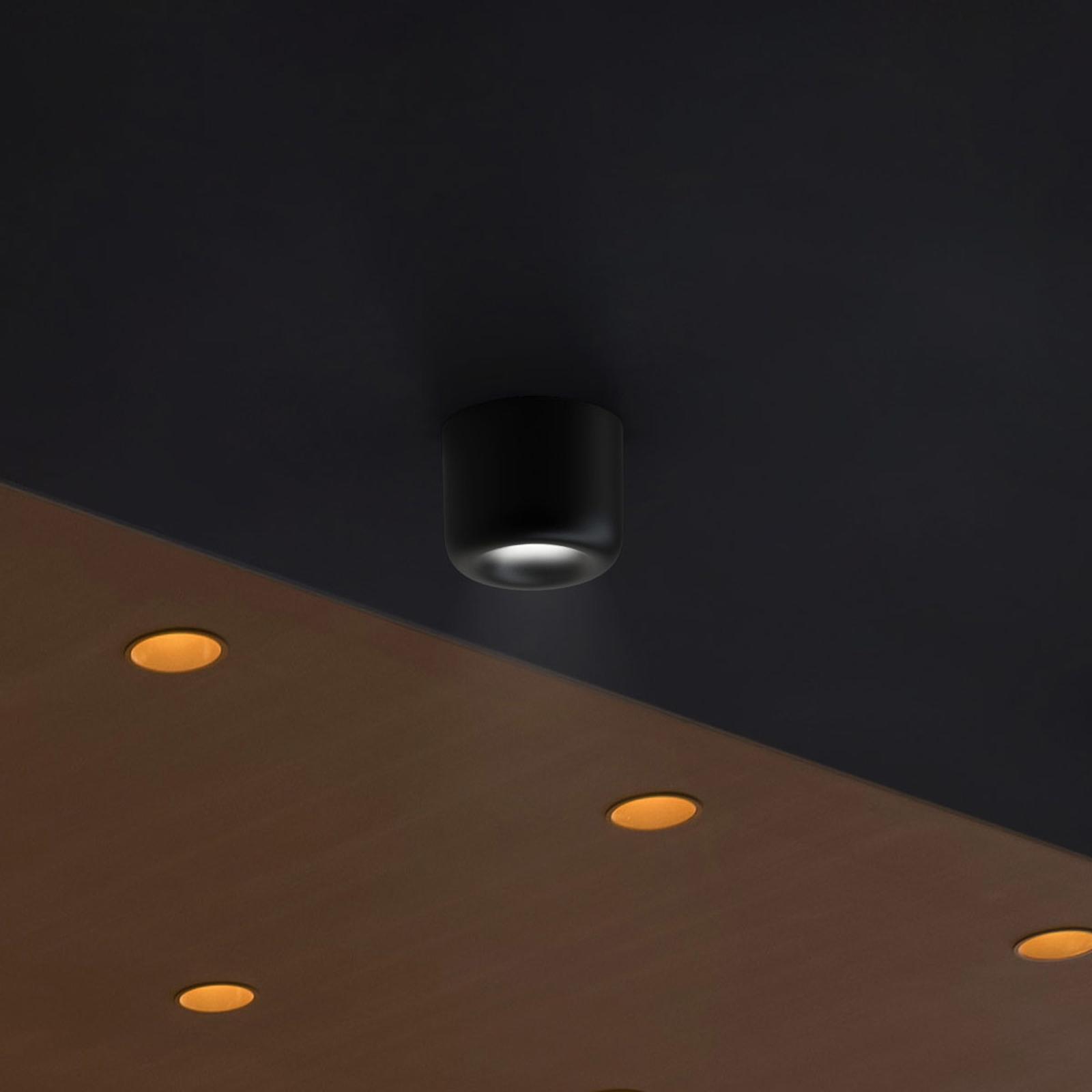 serien.lighting Cavity Ceiling S, schwarz