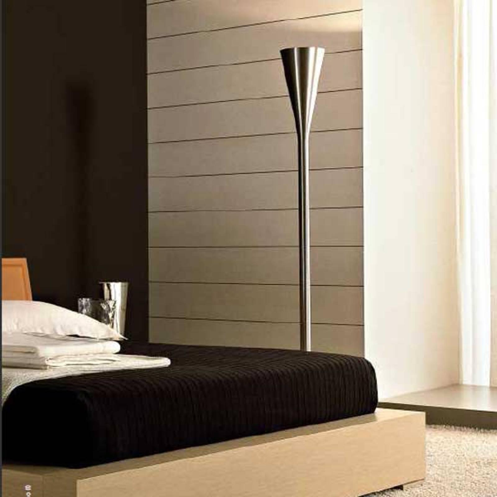 Fontana Arte Luminator lampadaire LED, nickel