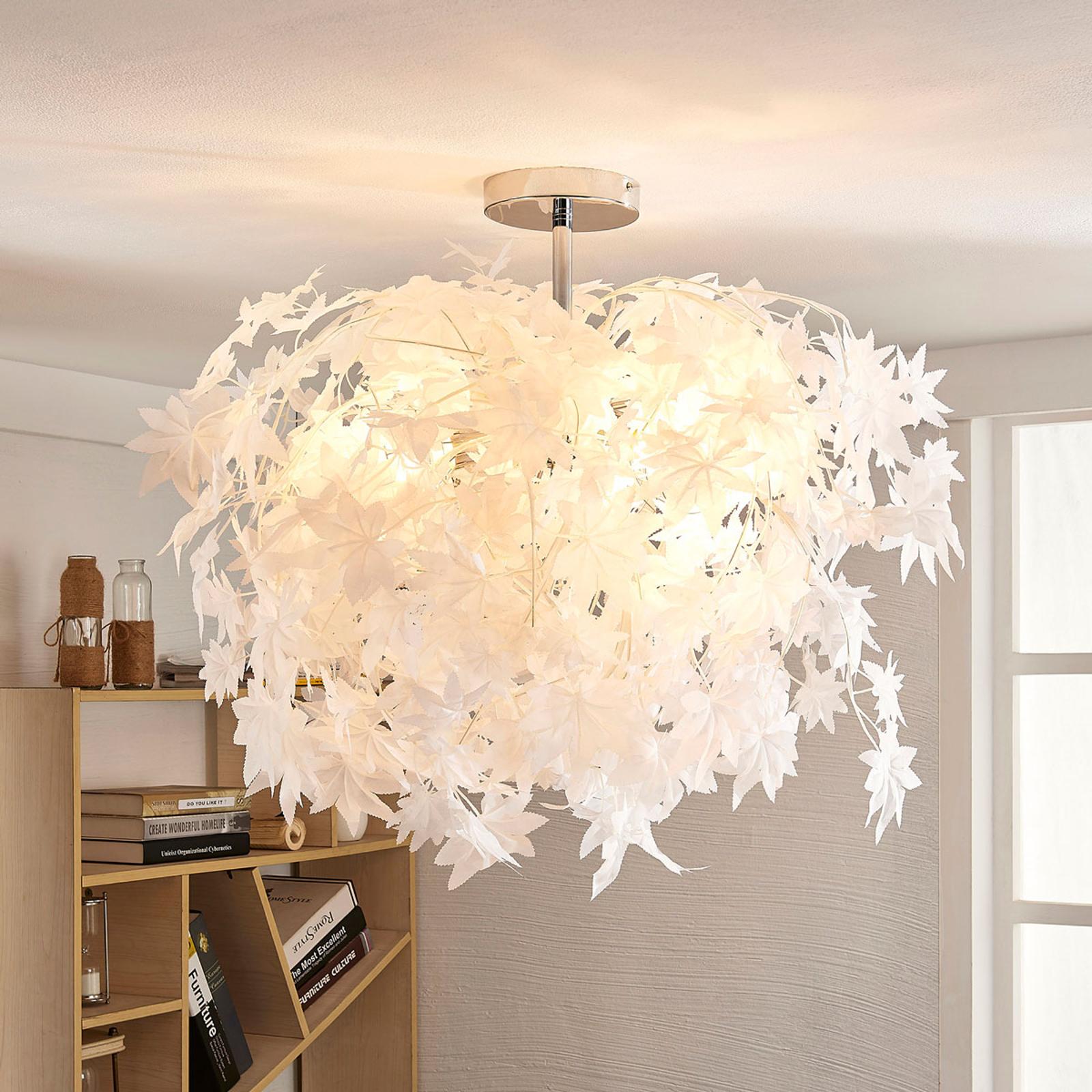 Fortryllende taklampe Maple med blad