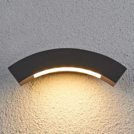 Applique d'extérieur LED Lennik courbée