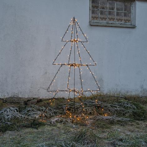 LED da esterni Light Tree Foldy, altezza 170 cm