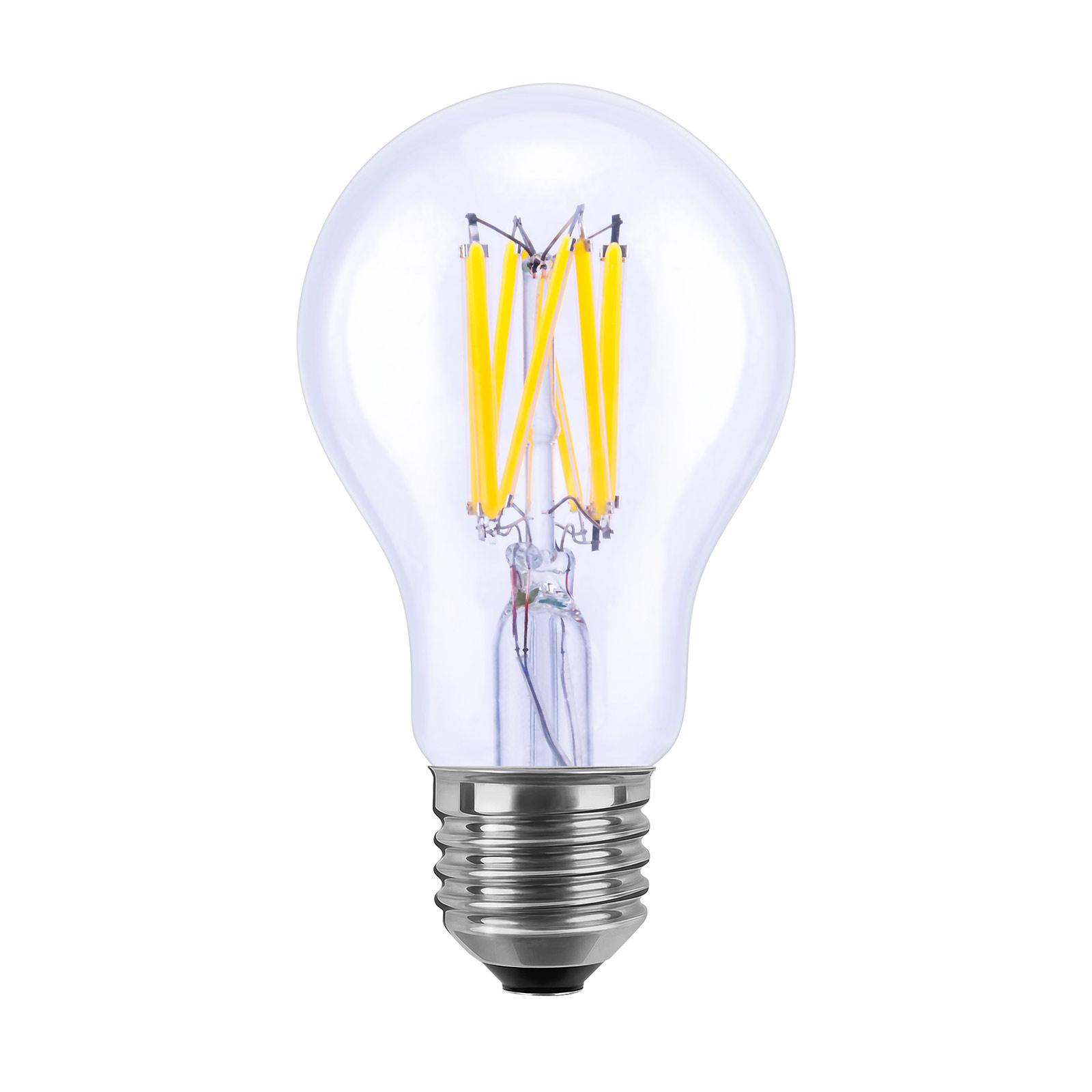 SEGULA LED High Power, E27, 8W, 810lm, trasparente