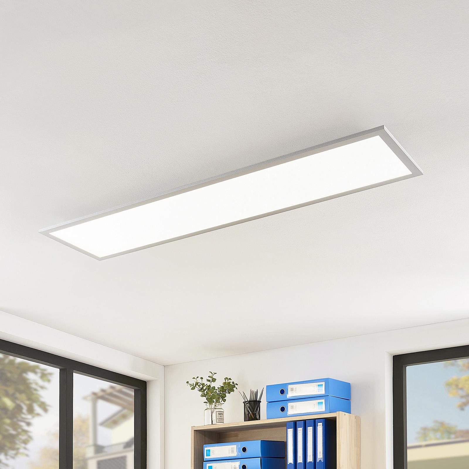 Arcchio Gelora LED-panel, 4000K, 120 x 30 cm