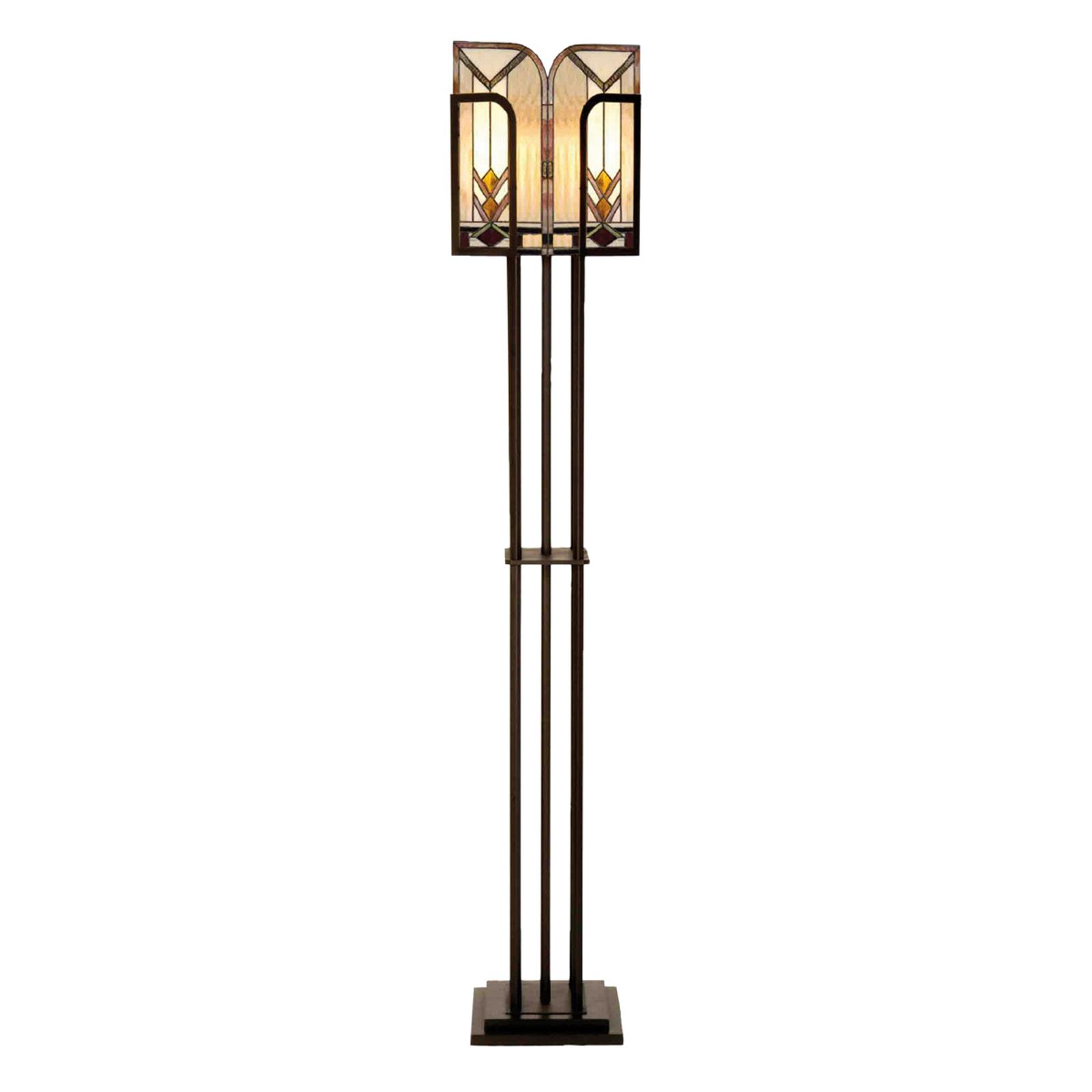 Lampa stojąca Madison w stylu Tiffany