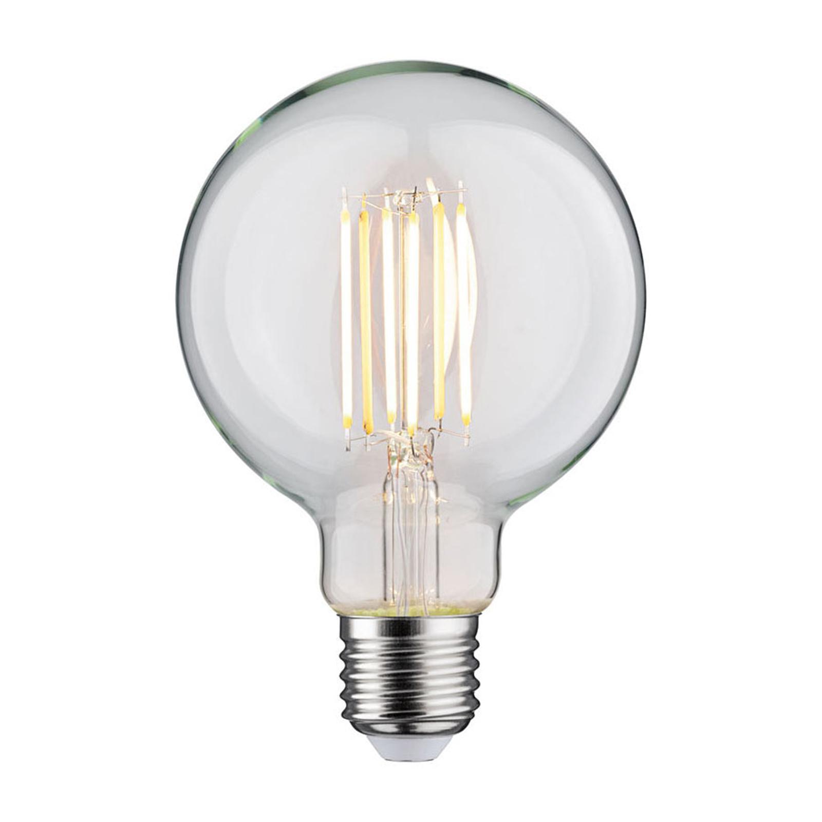 Paulmann LED-globepære E27 7 W dim-to-warm