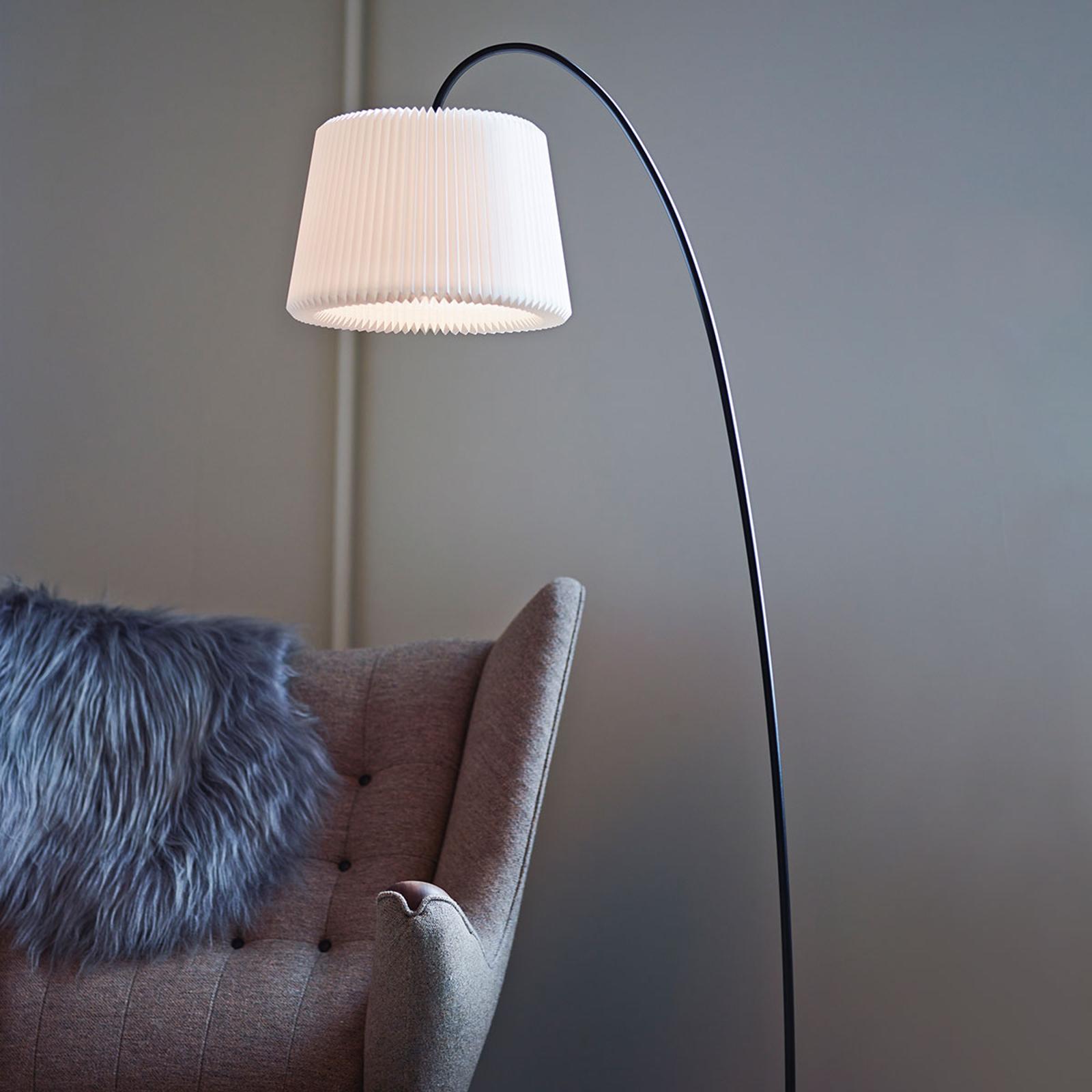 LE KLINT Snowdrop - vloerlamp, papieren kap wit