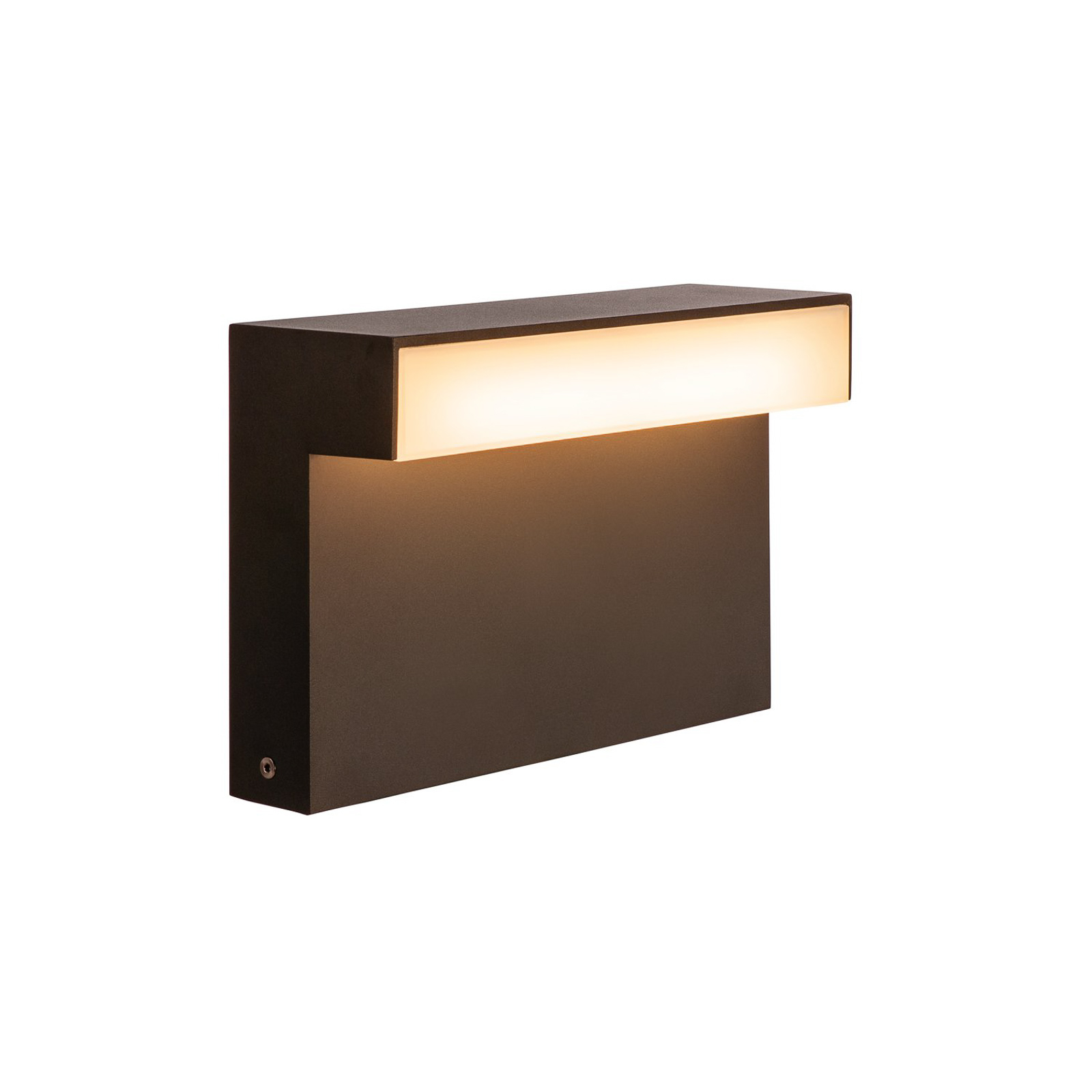 SLV L-Line Out LED-Sockelleuchte CCT, Höhe 20cm