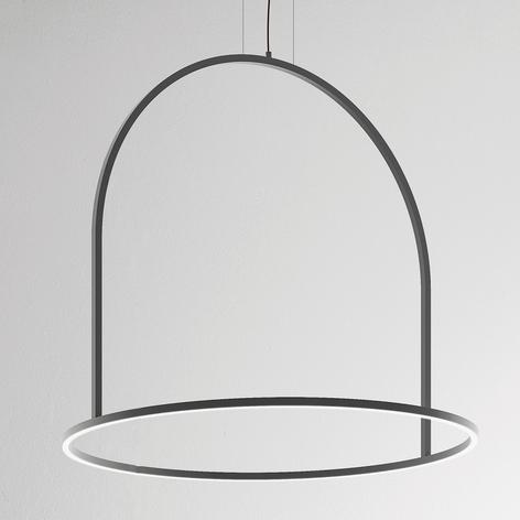 Suspension LED originale U-Light grise
