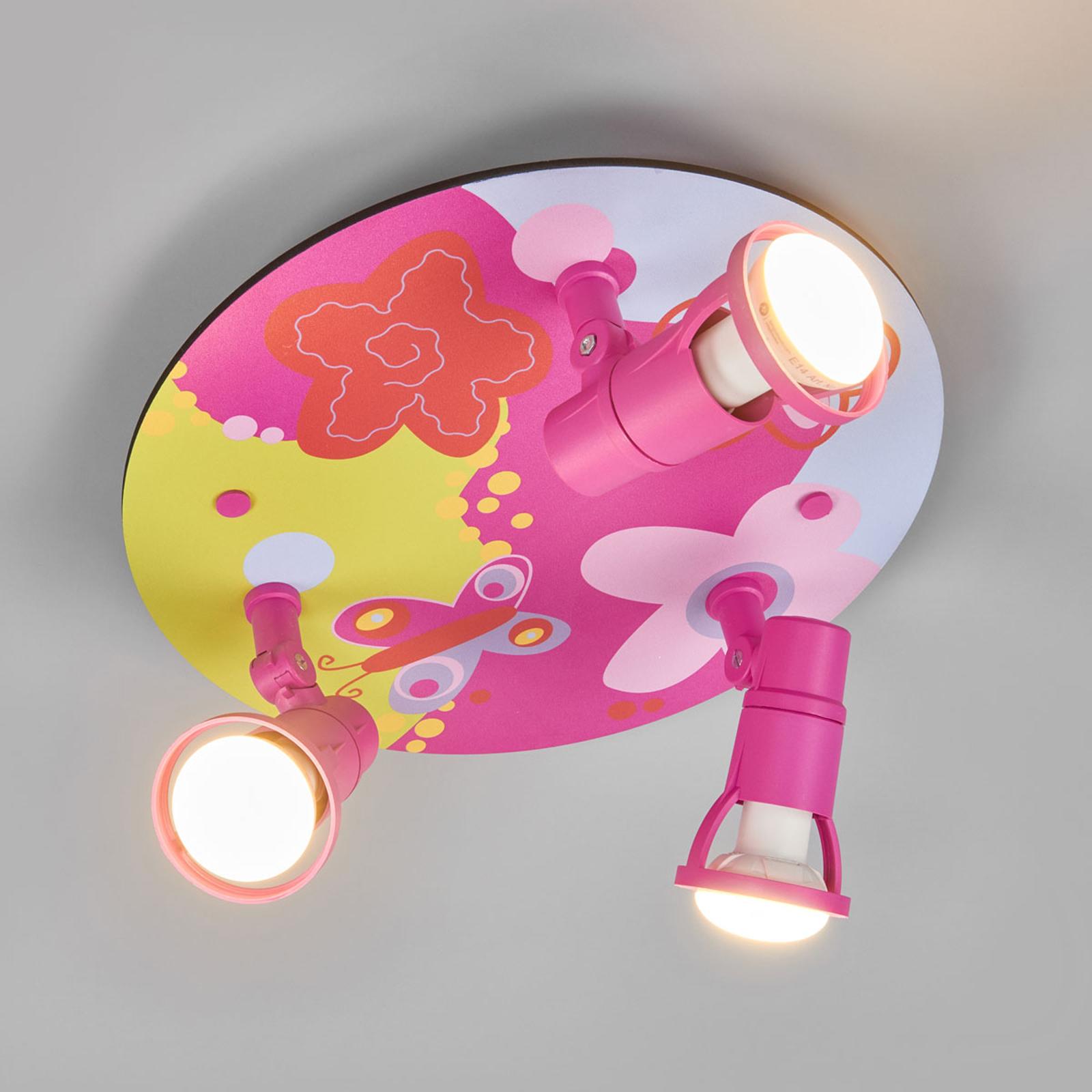 Plafonnier coloré Bubblefly