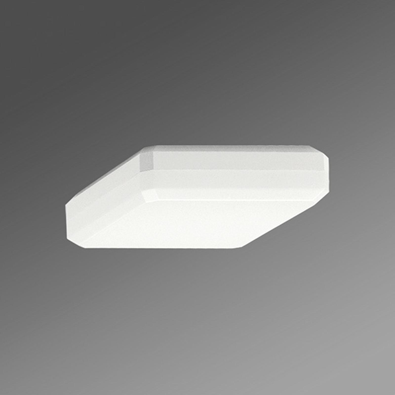 Lampa sufitowa LED WQL opalowy ciepła biel