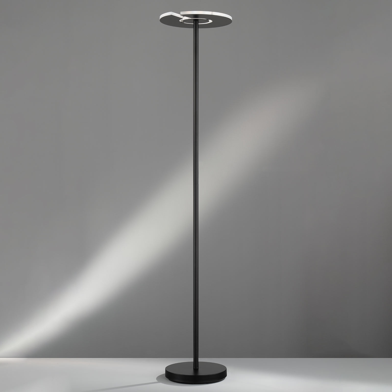 Lampe indirecte LED Dent, Tunable White, noir mat