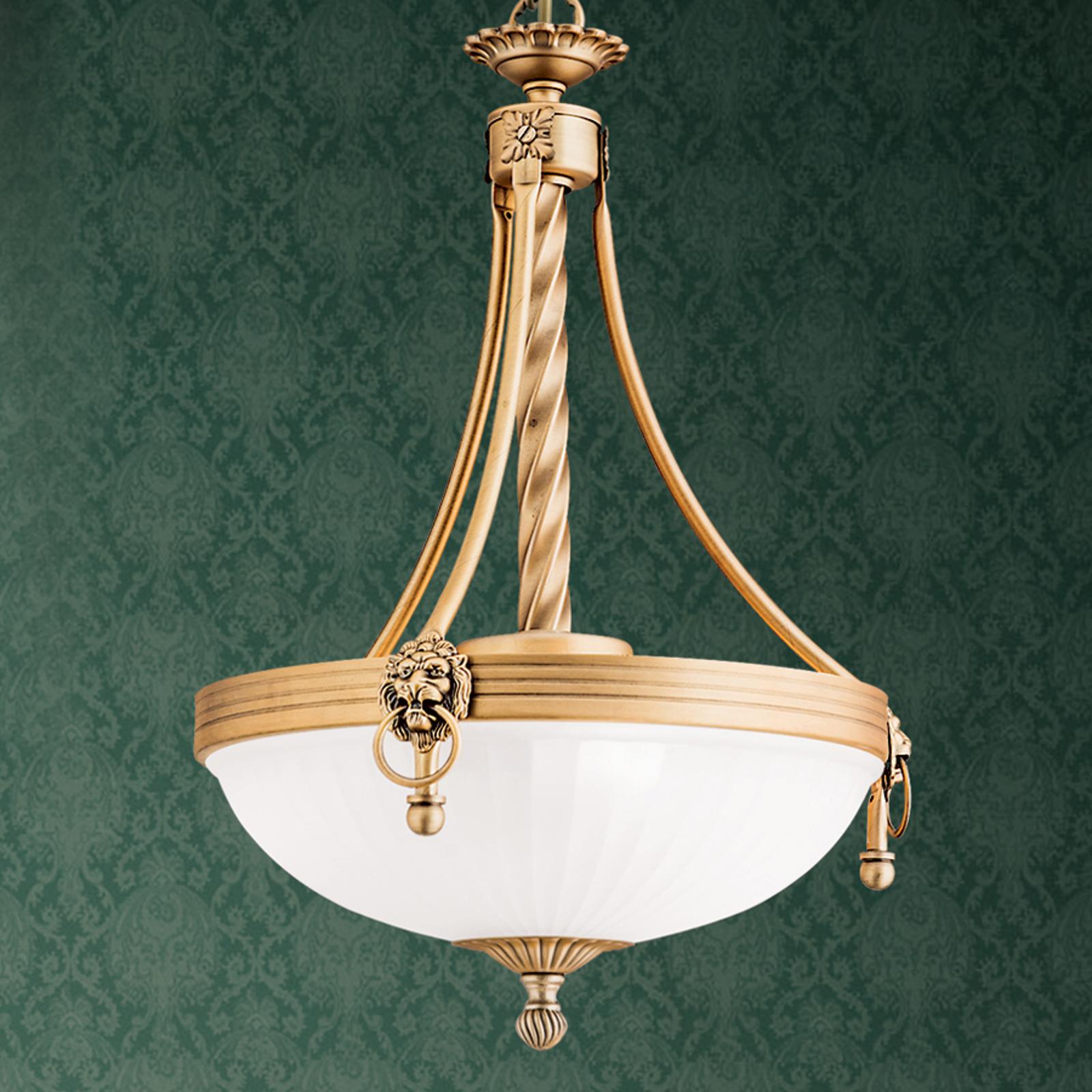Tradycyjna lampa wisząca Noam, 34 cm