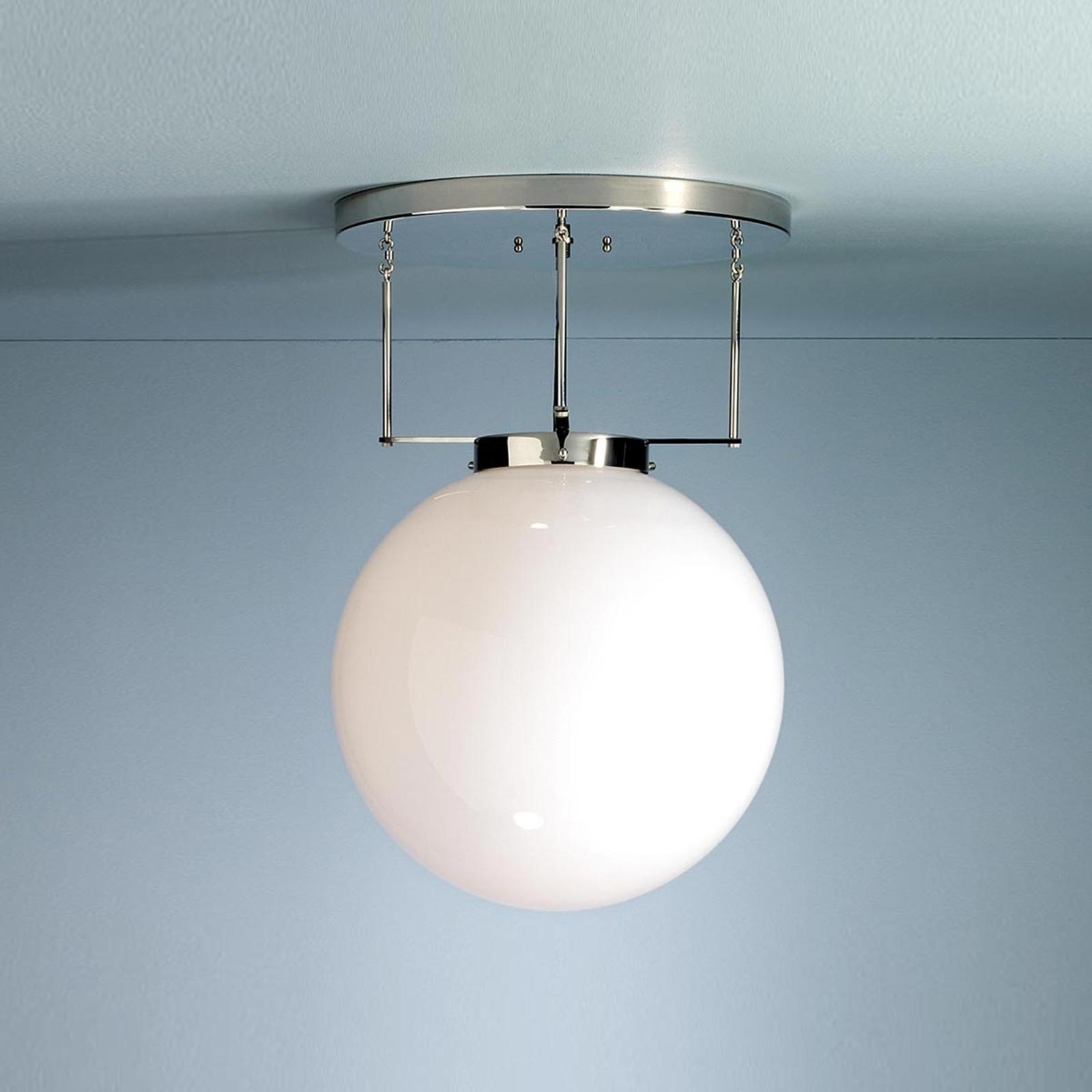 Brandts Loftlampe I Bauhaus Stil Nikkel Lampegiganten Dk