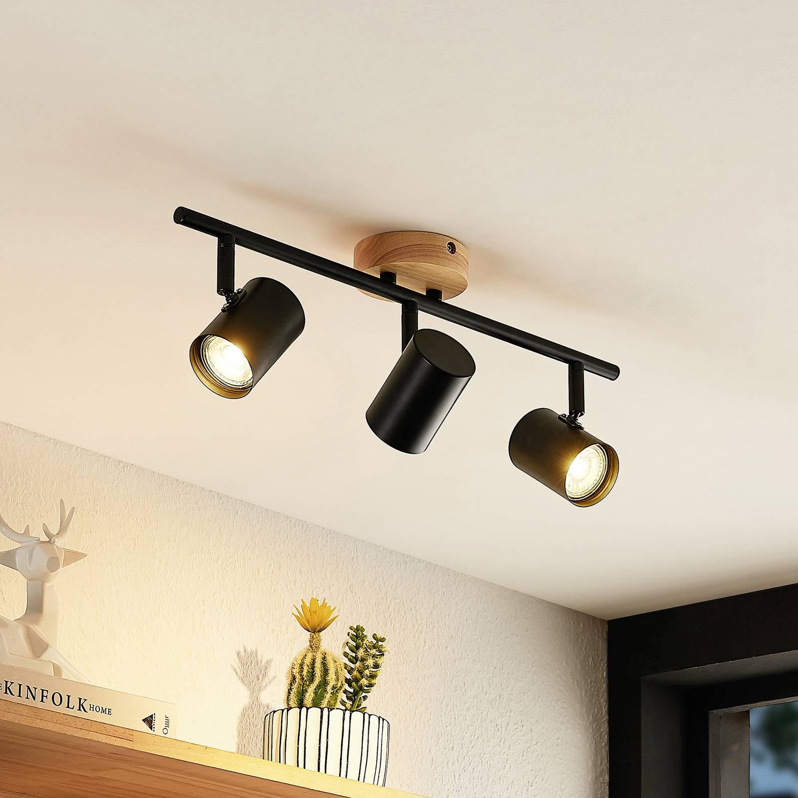 Lindby Xiomara plafondlamp, 3-lamps