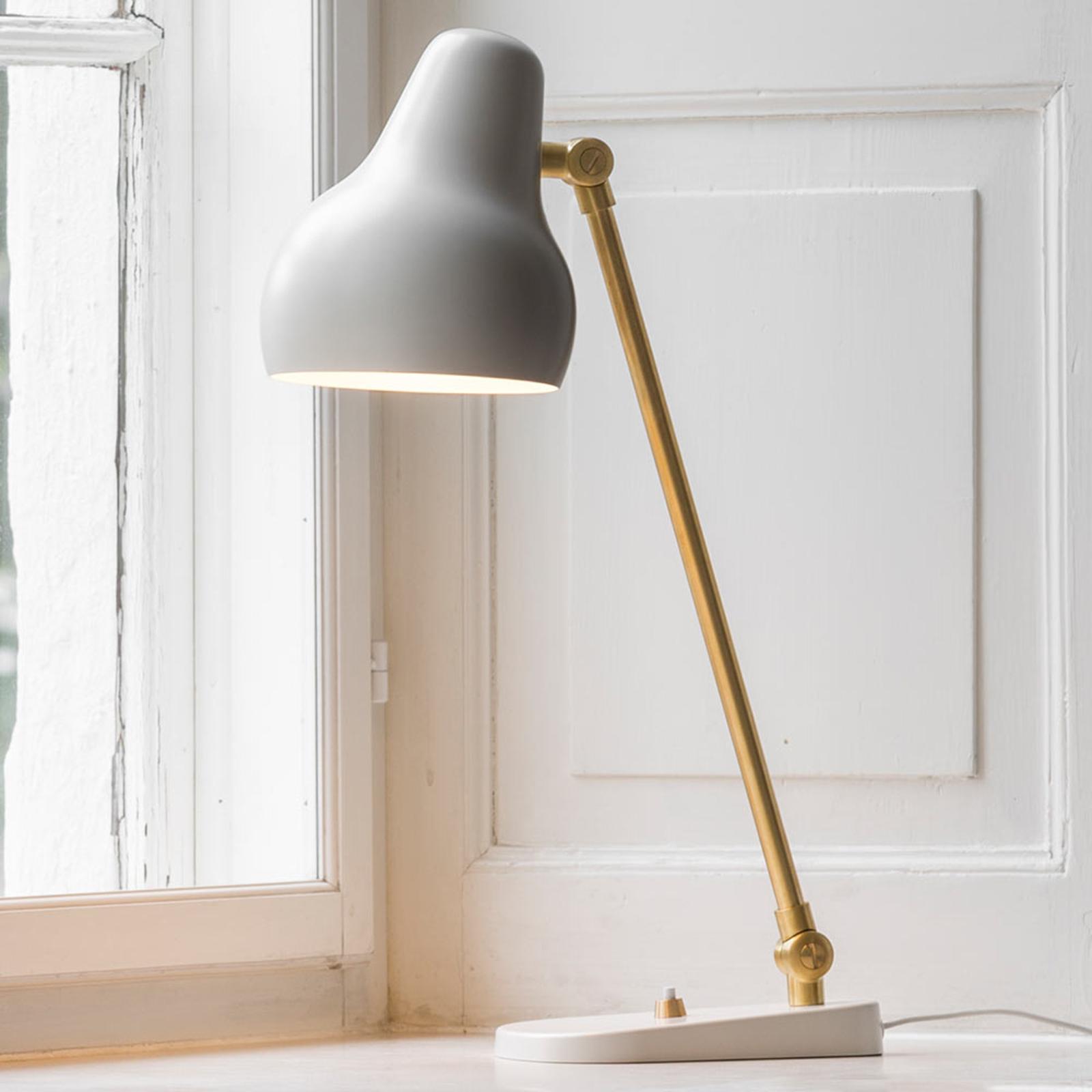 Louis Poulsen VL38 – LED-bordslampa, vit