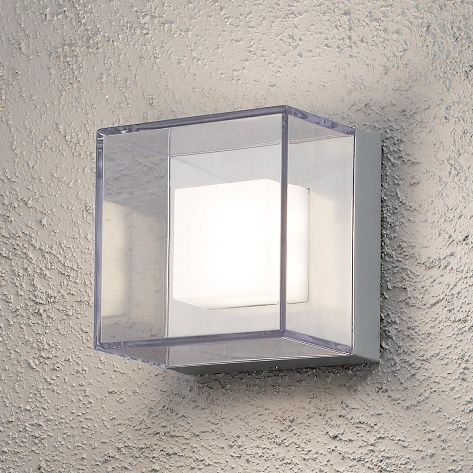 Transparente LED-Außenwandleuchte Sanremo - IP54