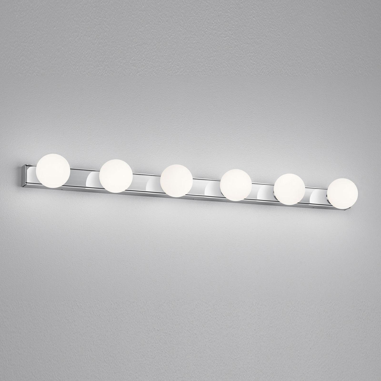 Helestra Lis LED-Spiegelleuchte, sechsflammig