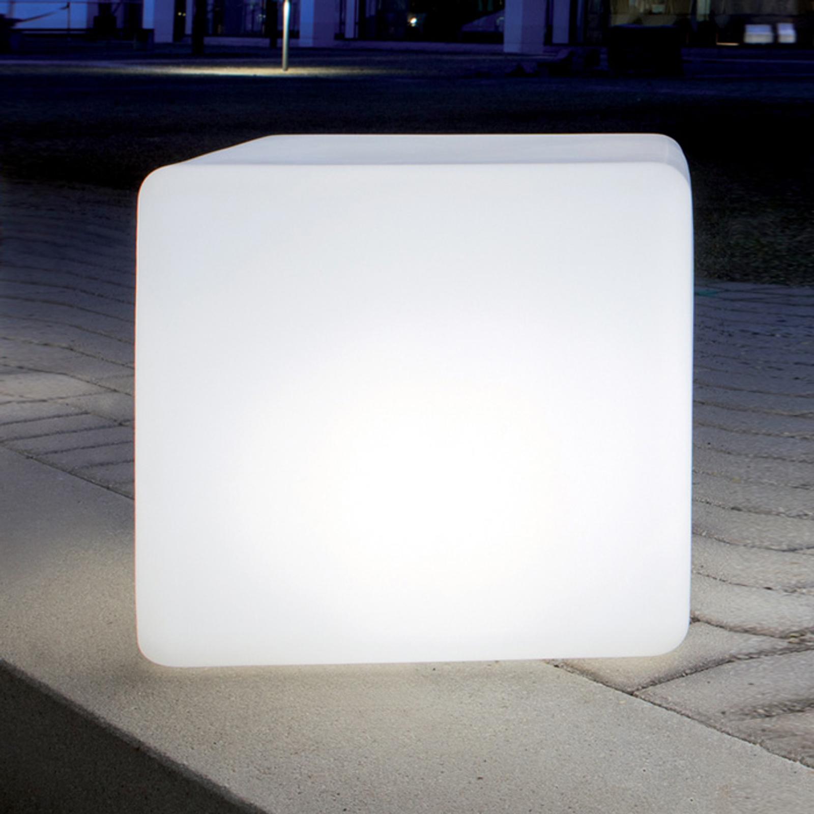 Eksklusiv Cube kubelampe, 45 cm