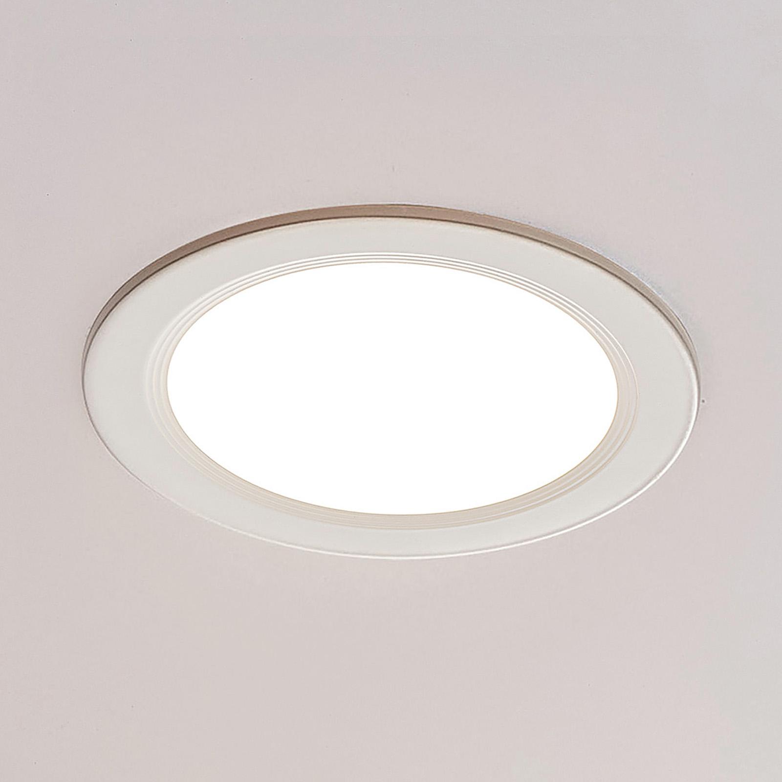 ELC Pan LED-Einbaupanel rund, 3.000 K Ø22,5cm