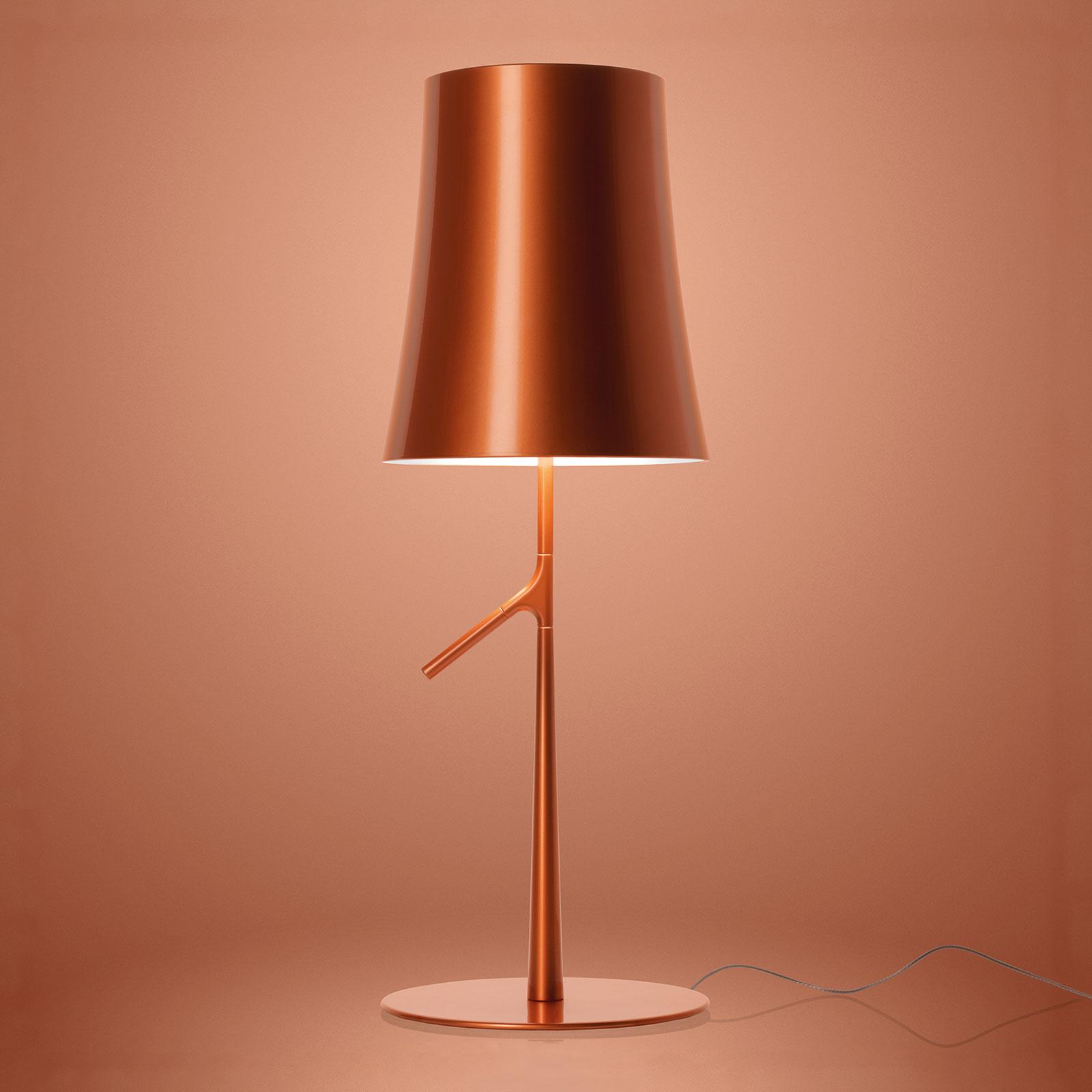 Foscarini Birdie LED grande lampada, rame