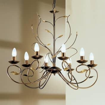 REGINE lysekrone i florentinsk stil med åtte lys