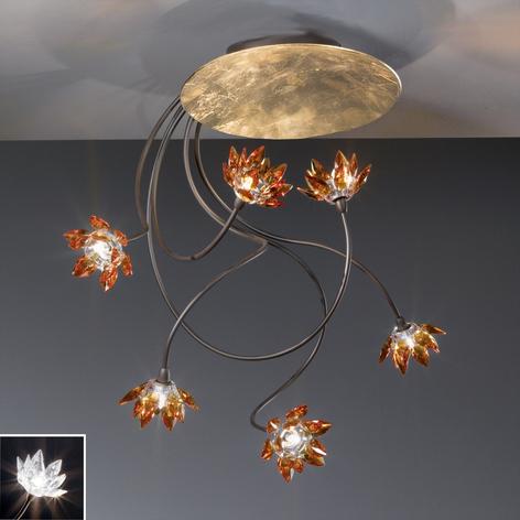 Kukikas FIORELLA-kattovalaisin 6 lamppua,