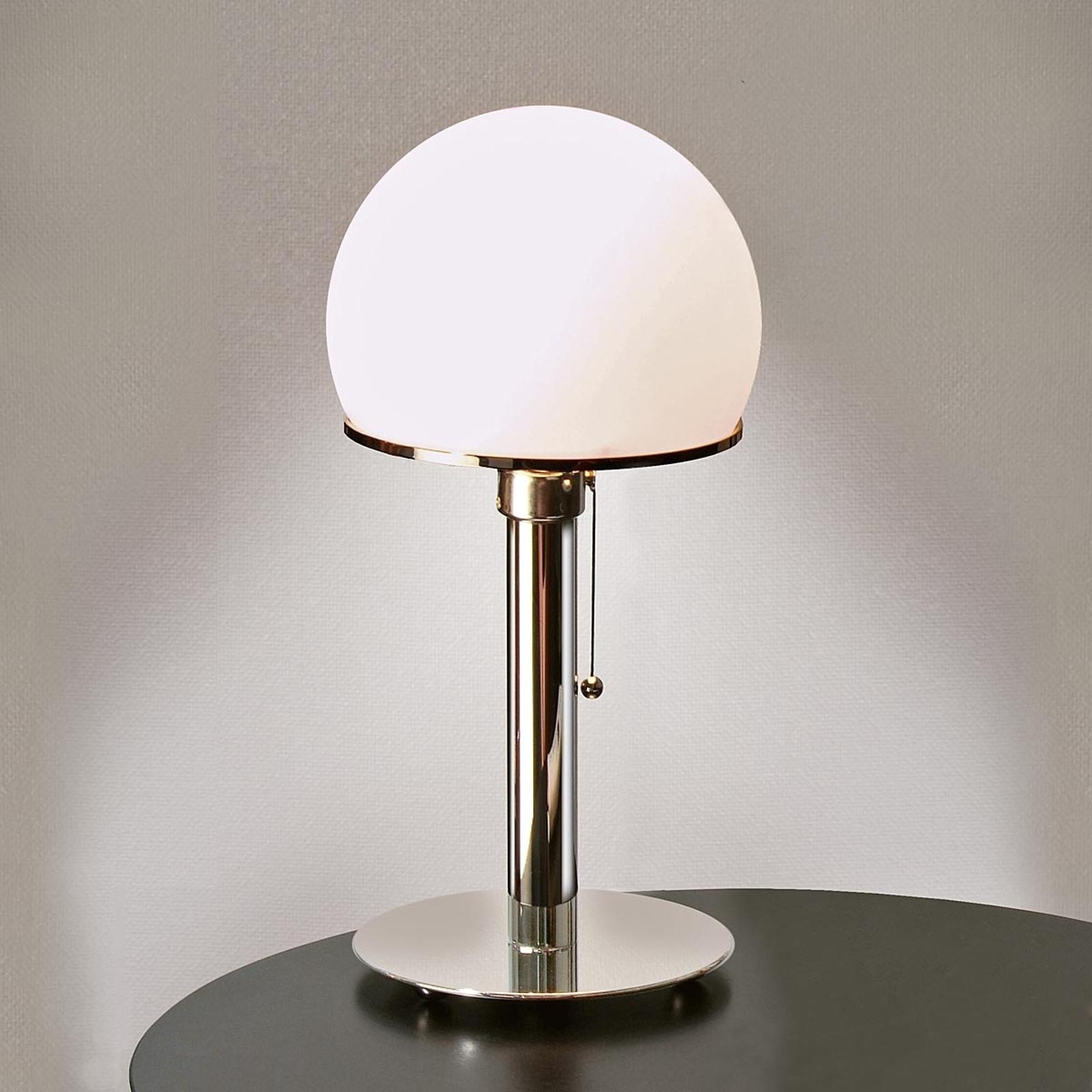 TECNOLUMEN Wagenfeld lampe à poser WA 24