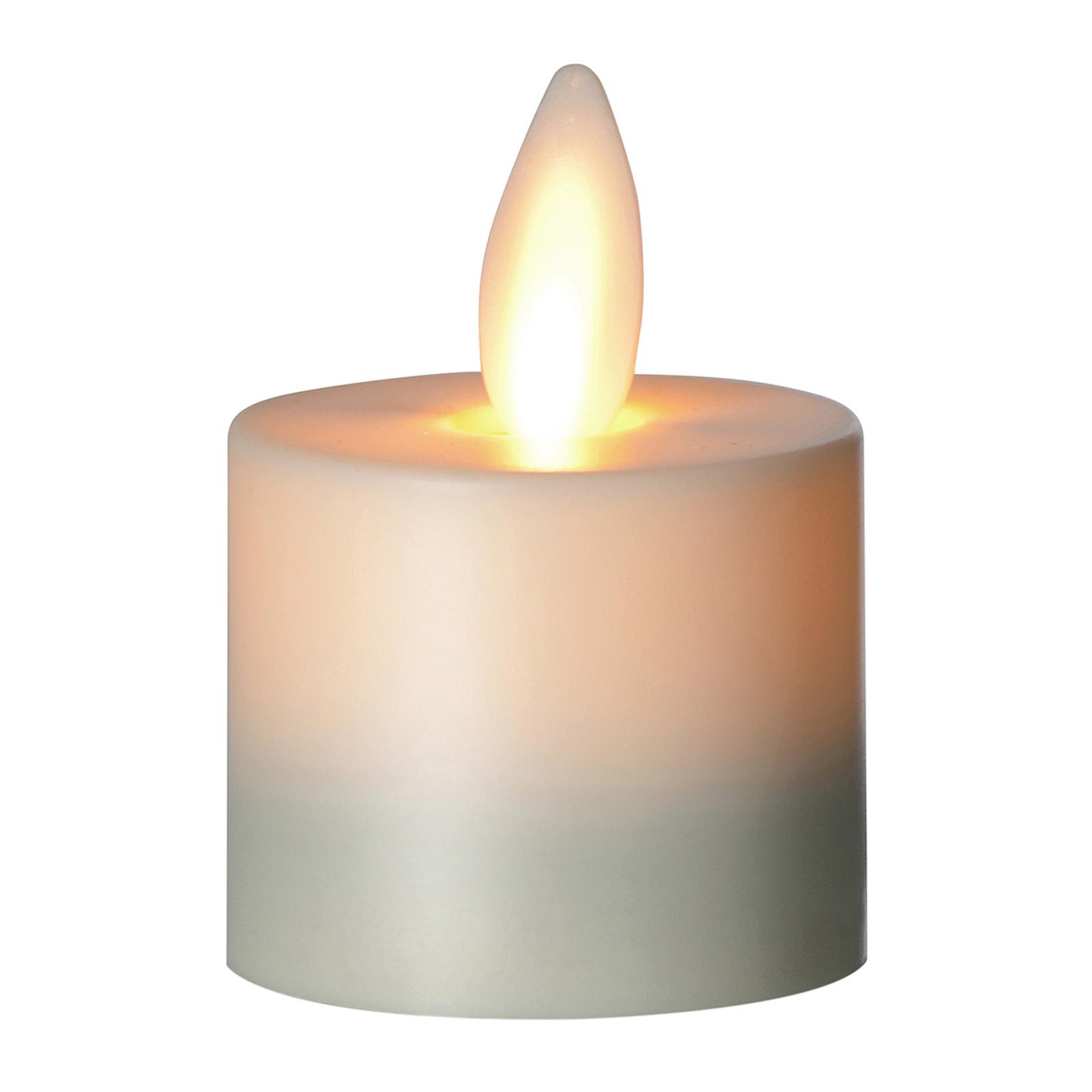 Bougie LED Flame bougie chauffe-plat, 3,1cm
