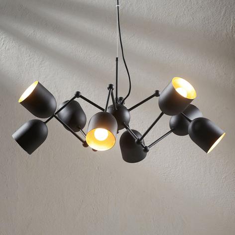 LED-pendellampe Morik med 8 lys, Easydim