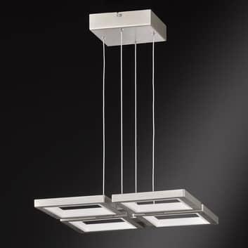 LED-pendellampa Viso - dimbar via väggbrytare