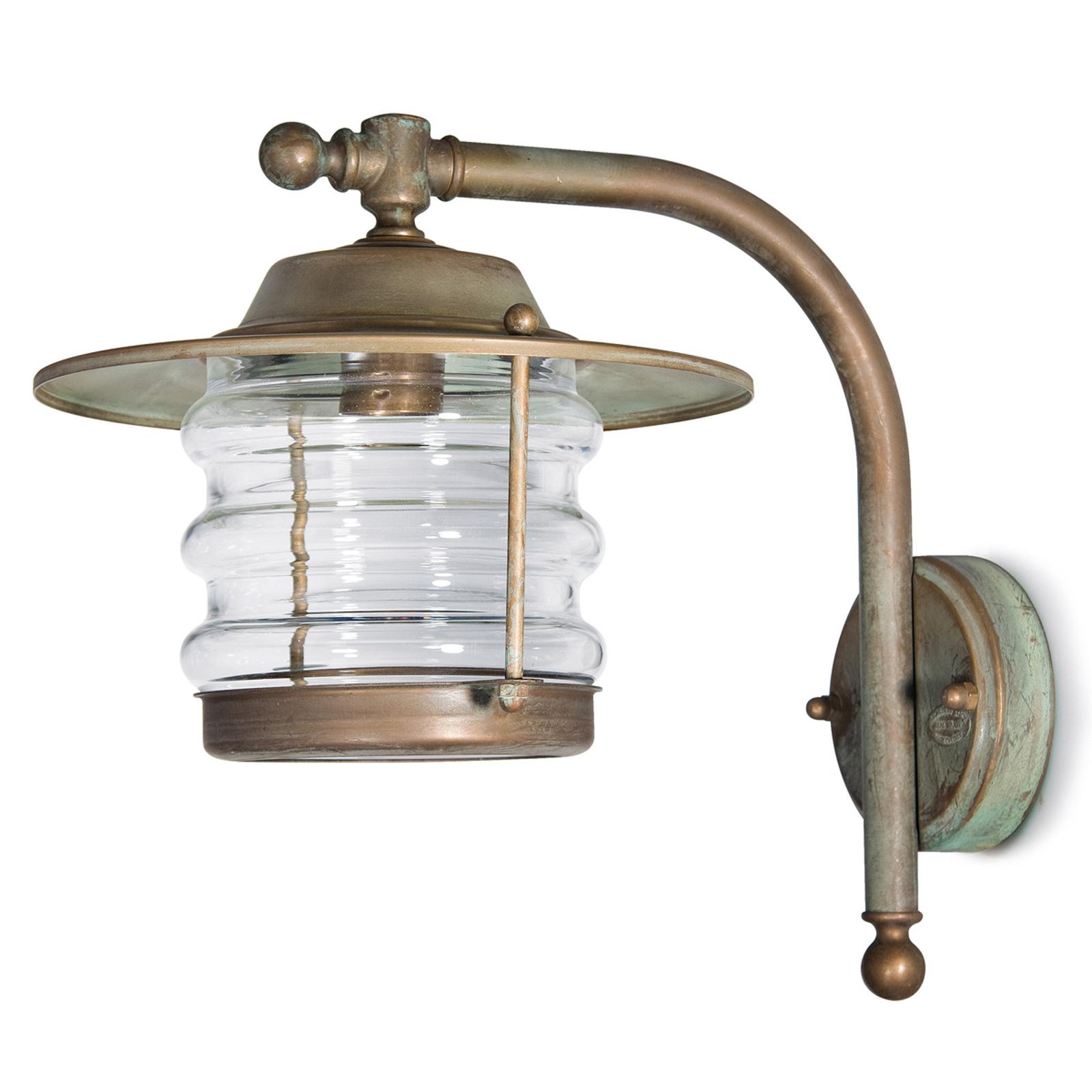 Utevegglampe Adessora, lanterne - tåler sjøvann