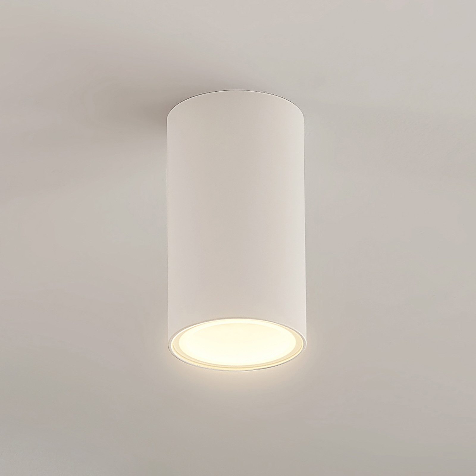 Arcchio Olivir downlight, kulatý, GU10, bílá