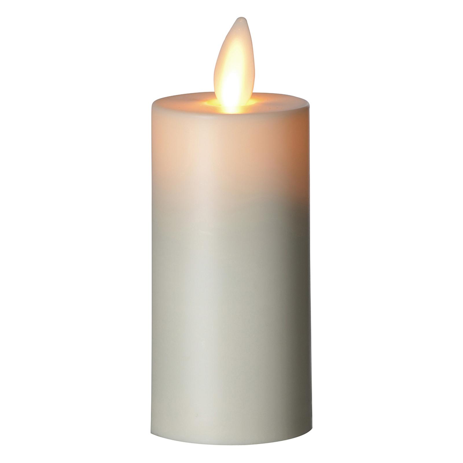 LED-stearinlys Flame telys XL, 8,3 cm