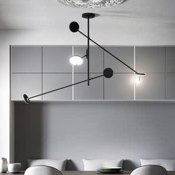 Grok Invisible lámpara colgante LED 3 luces 2.700K