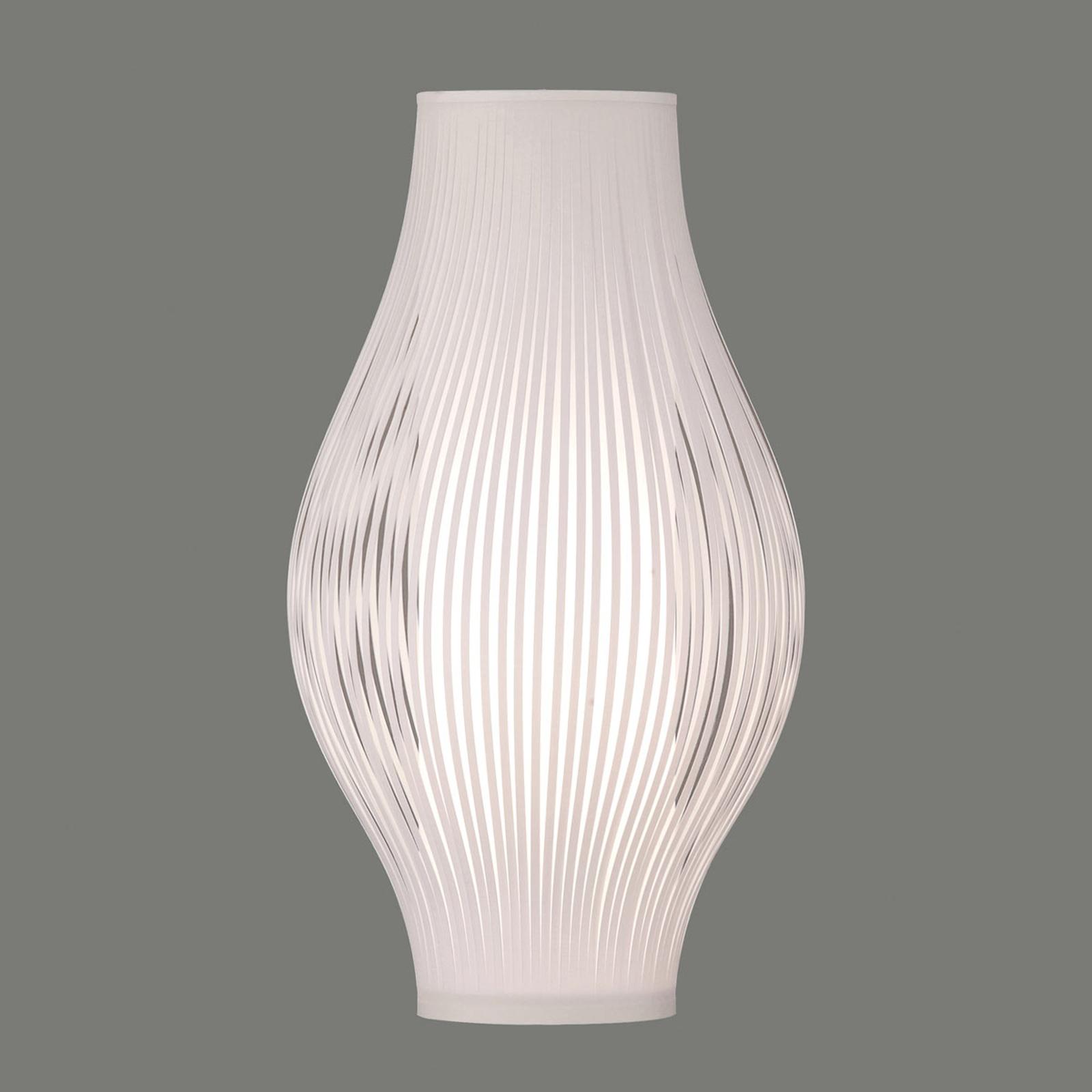 Tafellamp Murta, 51 cm, wit