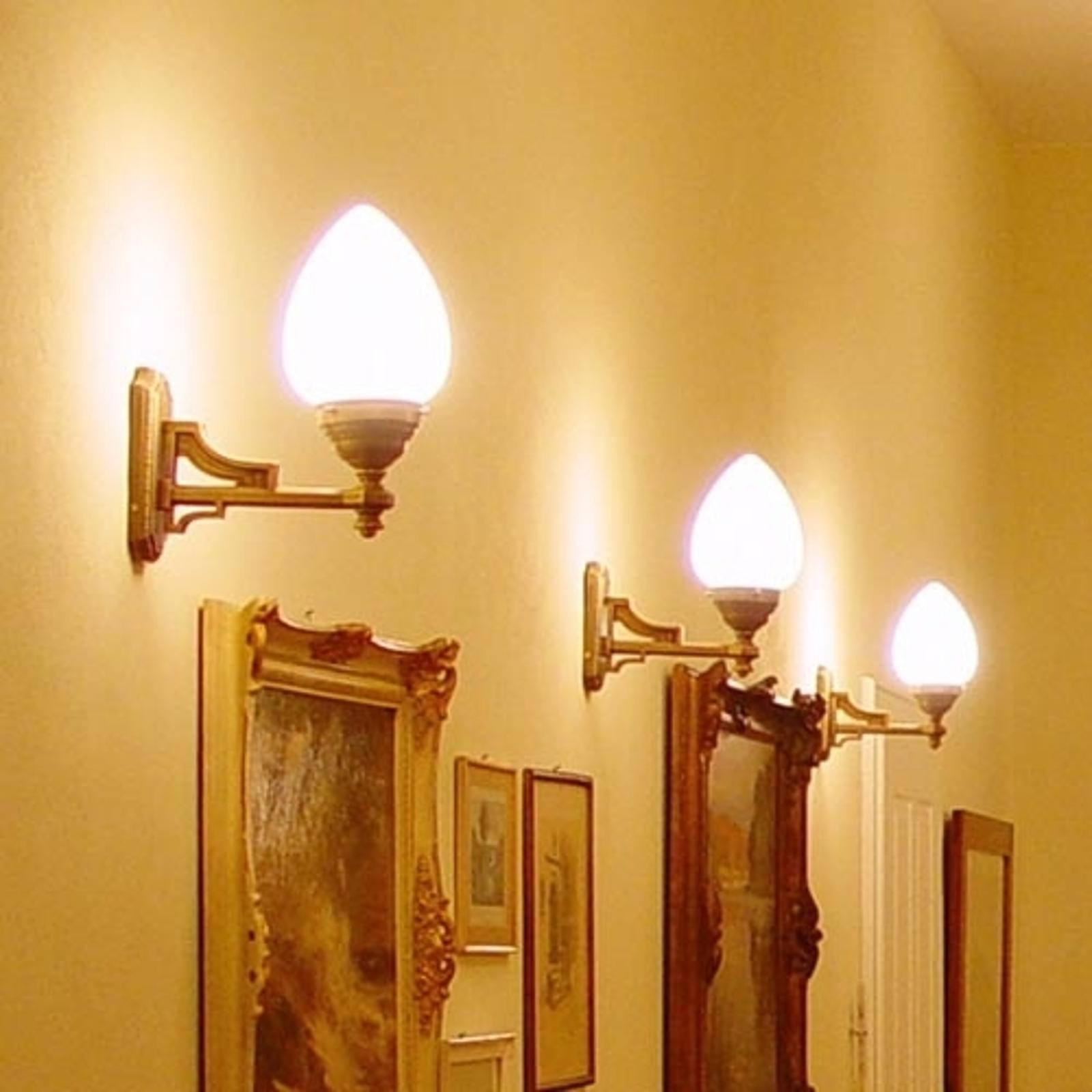 Venedig - nástěnné světlo z mosazi