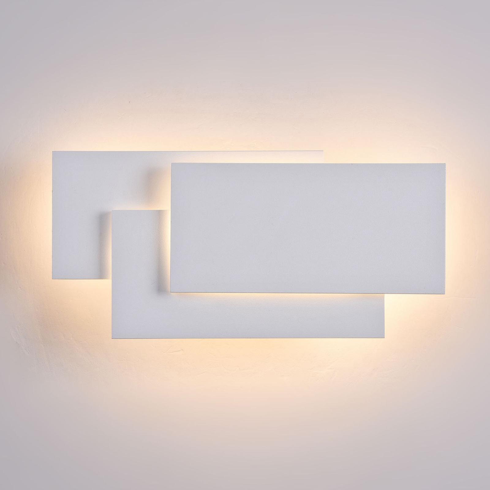 LED wandlamp Trame, rechthoekig