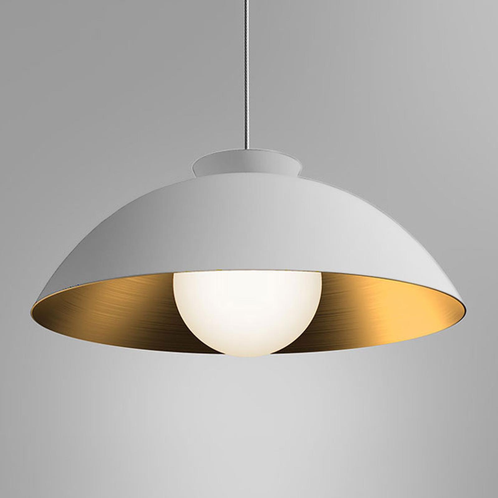 Innermost Chelsea hængelampe, Ø 56 cm, hvid