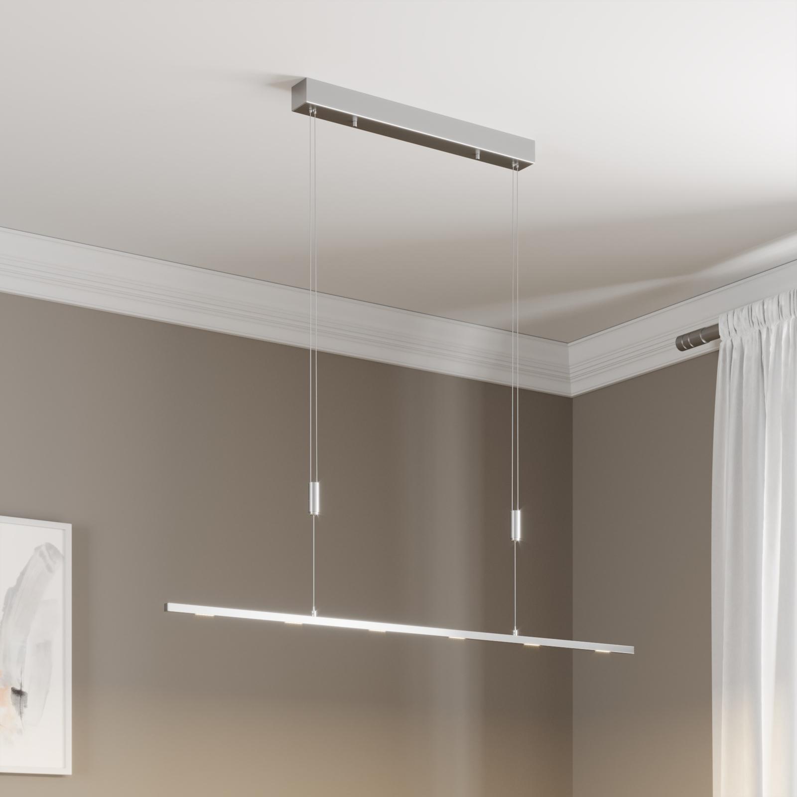 Jídelní lampa LED Arnik, stmívatelná, 120 cm