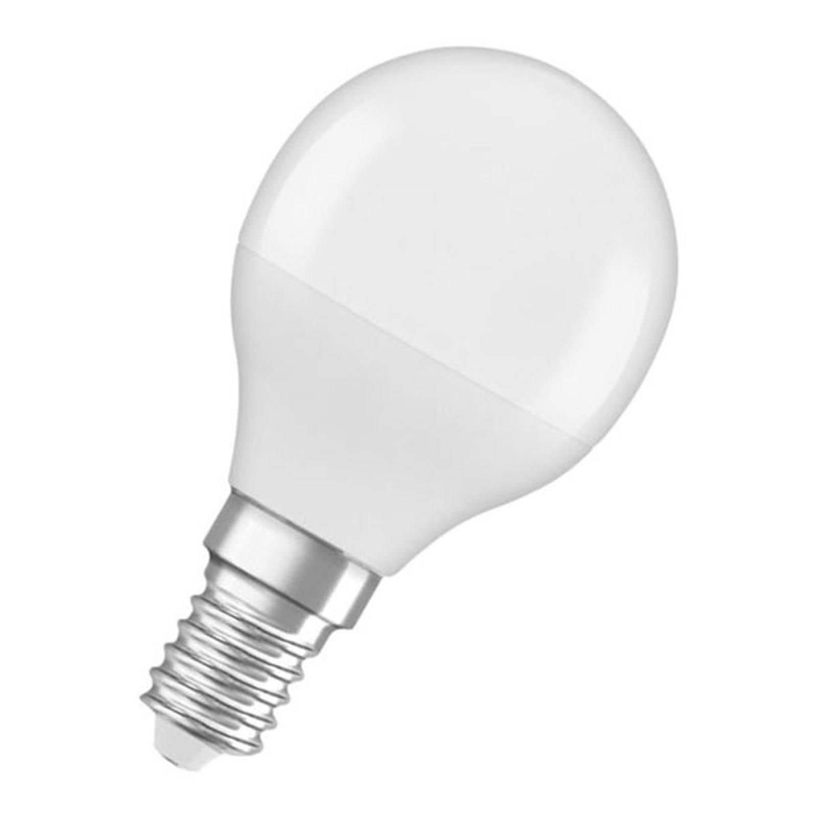 OSRAM LED-Tropfenlampe E14 5,5W 827 Star, matt