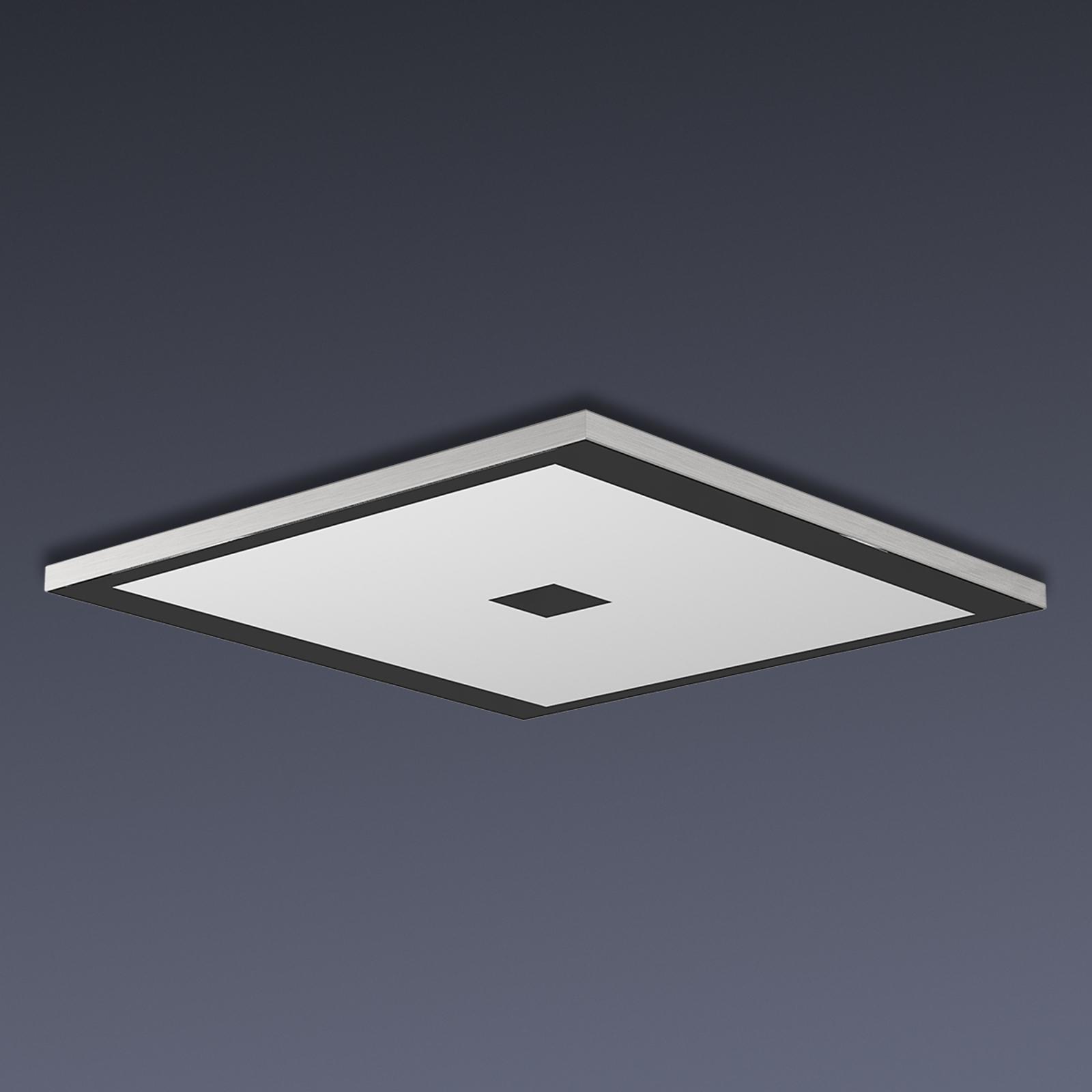 Lampada LED da soffitto quadrata Zen Color Control