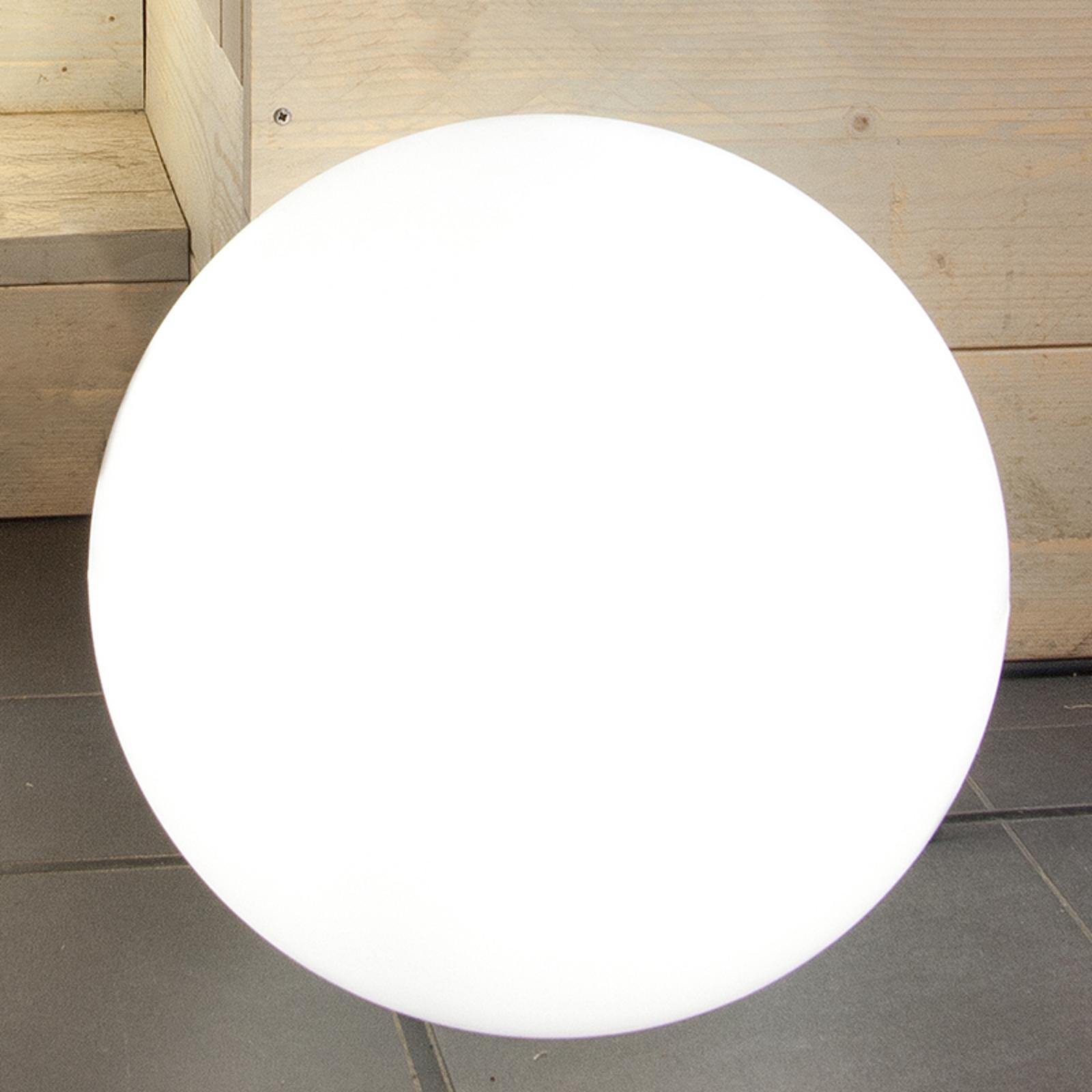 Solarna lampa zewnętrzna LED Shining Globe 40
